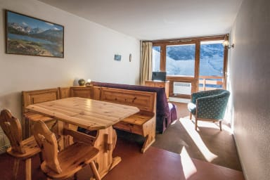 Nice flat at the heart of La Mongie, in a ski-in residence - Welkeys