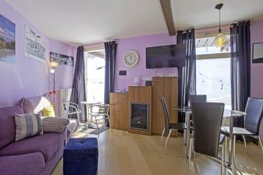 Charmant studio moderne avec balcon au coeur de La Mongie - Welkeys
