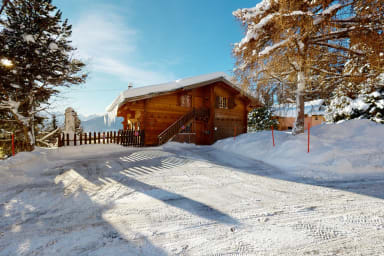 Apartment at the bottom of the slopes in Crans-Montana, cosy atmosphere