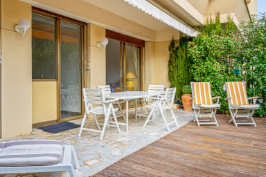 Elegant 1br flat with terrace 3 min to the Croisette in Cannes - Welkeys