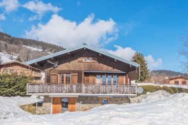 Superb chalet at the foot of Megève runs, 100m to the cable cars - Welkeys