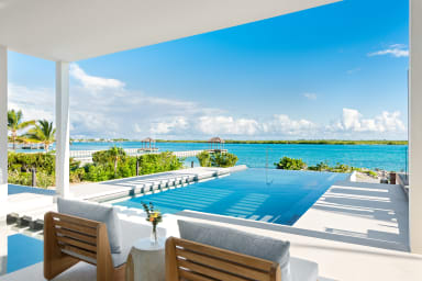 Blondel Cove // Private beach, dock, tennis court, and more