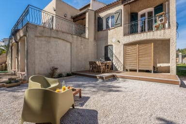 Superb flat with large garden and parking in La Ciotat - Welkeys