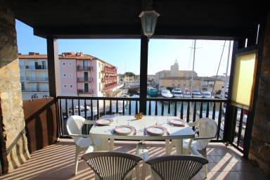 Appartement 2 pièces spacieux - climatisation et grand balcon proche centre