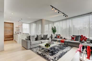 Appartement meublé 2 chambres à Montréal sud-ouest