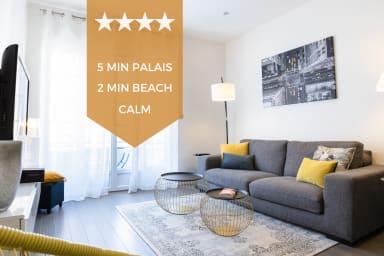 KIKILOUE ☀️ 4 pièces tendance en plein centre de Cannes ☀️ Plages, Palais..