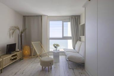 Superbe studio en front de mer et la Grande Plage de Biarritz - Welkeys
