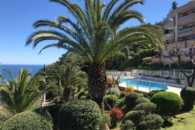(304) Ravissant Appartement 2P Les Terrasses Saint-Honorat Parking Vue Mer