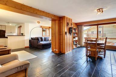 Spacieux appartement, 8 personnes, au centre de Verbier, cheminée,..