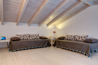 Mezzanine accessed from bedroom 2