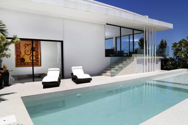 Luxury penthouse rental - rio de janeiro - Terrace and swimming pool