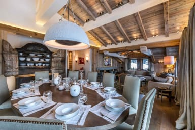 luxury ski holidays - Courchevel - Dining room - Chalet Bastidons