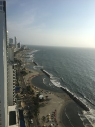 2 Bedroom Condo at one of the best buildings in Bocagrande Cartagena