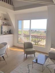 Deauville - Duplex très lumineux, vue panoramique sur mer