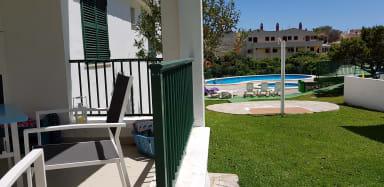Ciutadella de Menorca. Biniforcat 24 -Terrace and Pool