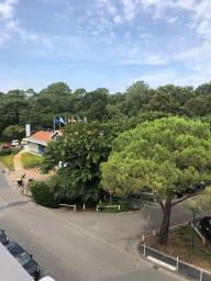 Appartement T2 vue sur le parc du Broustic centre-ville Andernos
