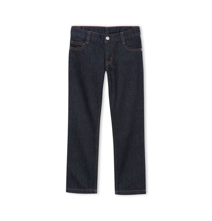 Boy's raw denim jeans