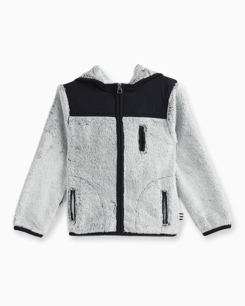 Little Boy Faux Fur Jacket