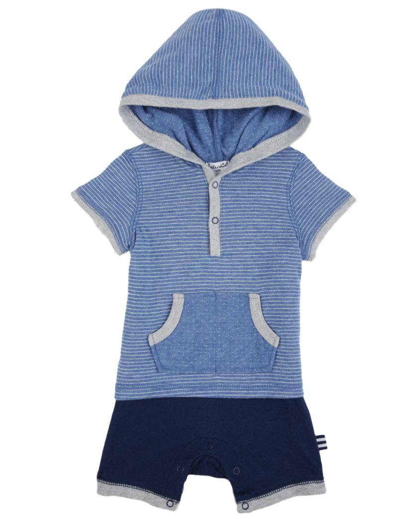 Baby Boy Double Knit Romper