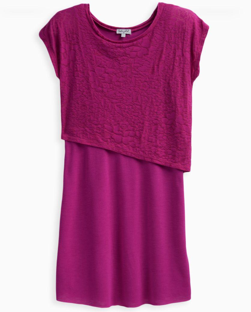 Girl Burnout Layer Dress