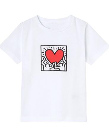 Girl's Petit Bateau x Keith Haring T-shirt