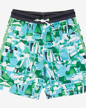 Little Boys' Abstract Swim Trunk (2T-7)