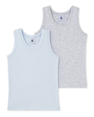 Pack of 2 boy's vest tops