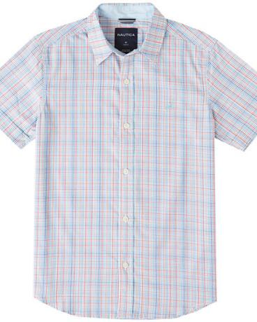 Toddler Boys' Plaid Short Sleeve Shirt (2T-3T)