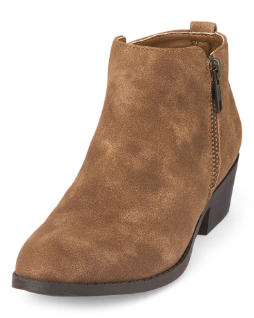 Girls Zipper Hailey Bootie