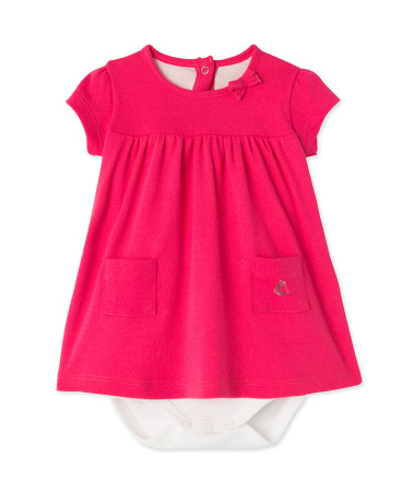 Baby girls' bodysuit dress