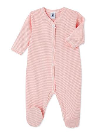Baby girl's milleraies stripe sleeper