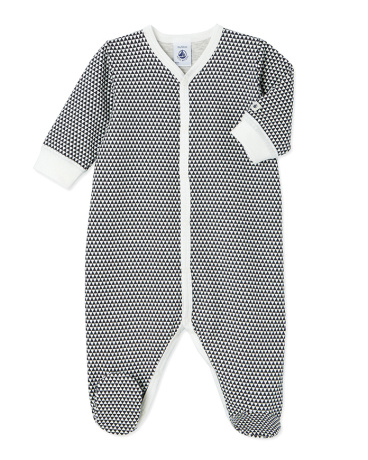 Baby boy's printed sleeper