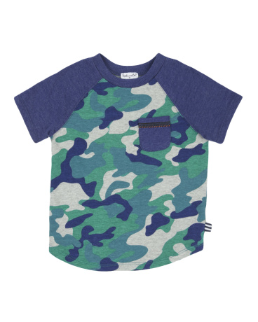 Little Boy Camo Tee