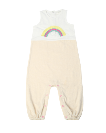 Rainbow Sleeveless Cotton Romper