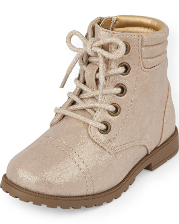 Toddler Girls Sparkly Ginger Boot