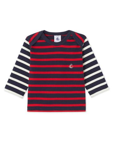 Baby boy's heavyweight jersey sailor top