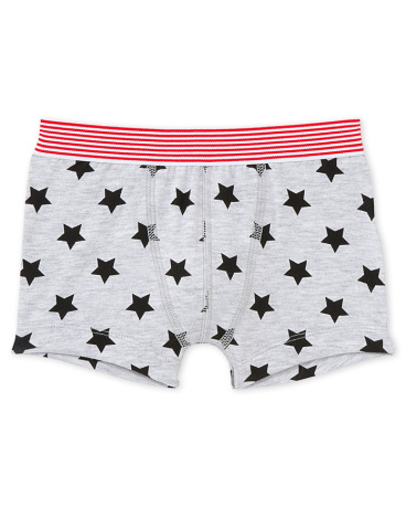 Boy's patterned boxer