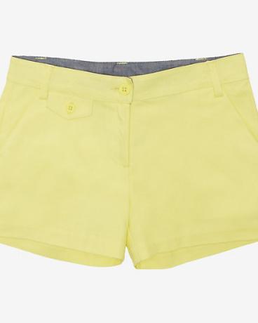 Little Girls' Yellow Twill Short (2T-7)