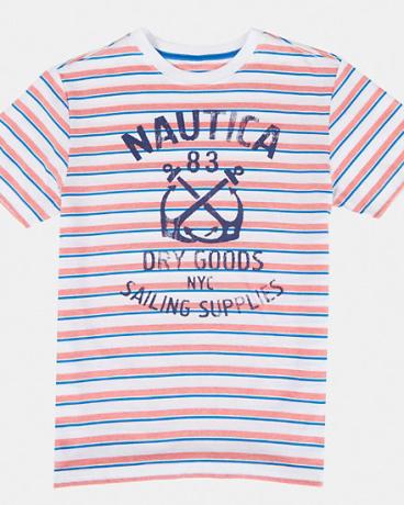 Boys' Sailing Supplies Striped Tee (8-16)