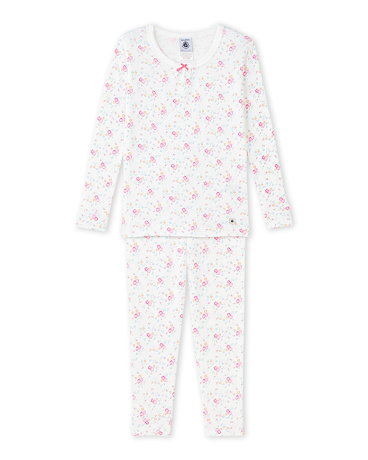 Girl's printed pajamas