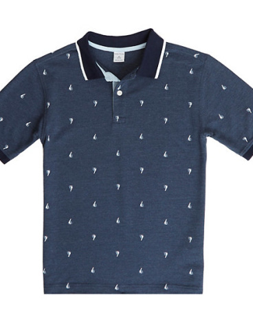 Boys' Sailboat Polo Shirt (8-16)