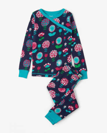 Harvest Floral Organic Cotton Pajama Set