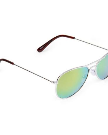 Boys Metal Aviator Sunglasses