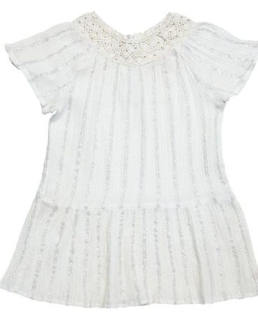 Lacey Lurex Dress