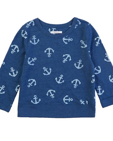 Little Girls' Anchor Pullover Sweatshirt (2T-7)