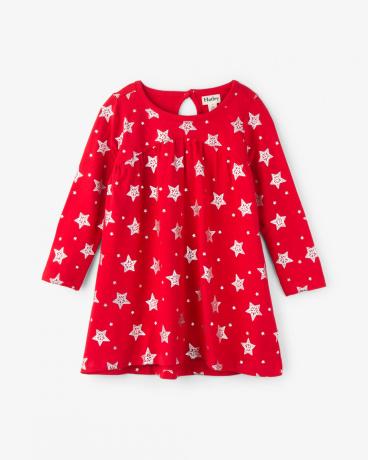Foil Twinkle Christmas Dress