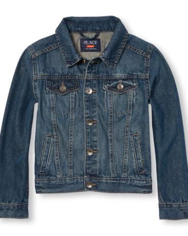 Boys Long Sleeve Denim Jacket