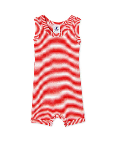 Baby boy milleraies striped short coverall