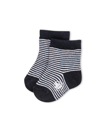 Children's socks in a milleraies stripe