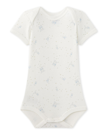 Baby boy's printed bodysuit